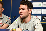 Mark Cavendish (GBR) Team Dimension Data at the top riders press conference for the Dubai Tour 2018 the Dubai Tour's 5th edition held at Dubai Frame in Zabeel Park, Dubai, United Arab Emirates. 5th February 2018.<br /> Picture: LaPresse/Massimo Paolone | Cyclefile<br /> <br /> <br /> All photos usage must carry mandatory copyright credit (© Cyclefile | LaPresse/Massimo Paolone)
