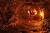 Thurston lava tube, Kilauea volcano, Hawaii, USA Volcanoes National Park, Big Island of Hawaii, USA