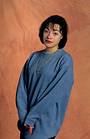 EXCLUSIF - Julie Deslauriers<br /> <br /> , Jan 1996<br /> <br /> <br /> PHOTO :  Agence Quebec Presse