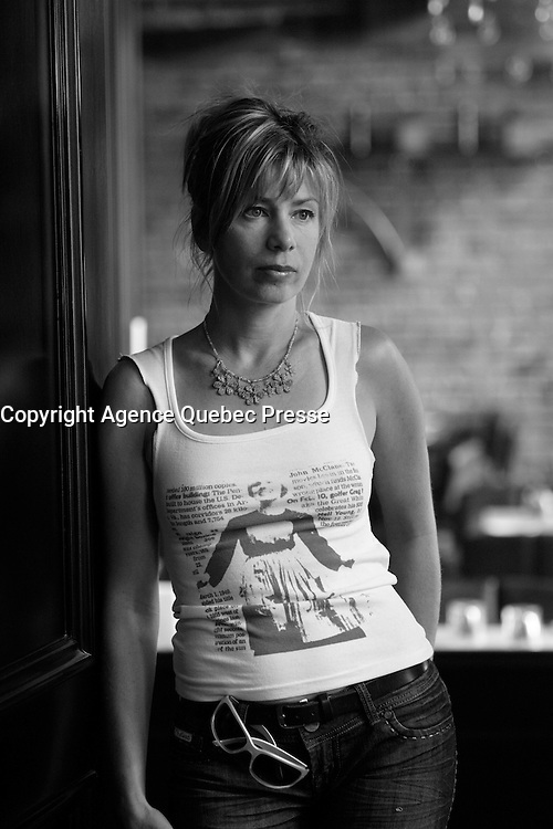 Montreal (Qc) CANADA - 2008 file photo -<br /> Celine Bonnier,<br /> Interview for the film TRUFFE directed by Kim Nguyen