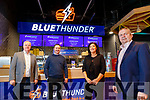 Eamonn Dalton, Michael Dalton, Diane Byrne and Tom Connolly, at the opening of Blue Thunder food outlet in Corrib oil service station in Tralee.