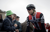 Edvald Boasson Hagen (Nor/DimensionData) to the start<br /> <br /> 114th Paris-Roubaix 2016