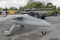 - Italian Army, Unmanned Aerial Vehicle (UAV) alenia Falco....- Esercito Italiano, velivolo senza pilota (UAV) Alenia Falco