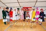 The 10 finalists standing with CeliaHolman Lee, ajudge at the Ladies Day best dressed lady event at the Listowel Races on Friday. L to r: Gemma McDonnagh (Galway), Denise O'Connor (Brosna), Maritess McCarthy (Cork), Faith Cahill (Carlow), Caroline O'Sullivan (Lisselton), Deirdre Kissane (Listowel), CeliaHolman Lee, Liz Shanahan (Killorglin), Mary Woulfe (Athea), Mary O'Halloran (Dublin) and Niamh Lorden (Listowel)