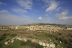 Israel, Shephelah. Archaeological remains at Tel Beth Shemesh