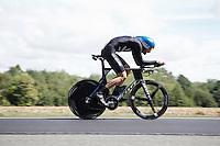 Sam Bewley (NZL/Orica-GreenEDGE) speeding along<br /> <br /> Elite Men TT<br /> UCI Road World Championships / Richmond 2015