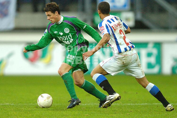 heerenveen - fc groningen eredivisie seizoen 2007-2008 09-12- 2007 mark jan fledderus.fotograaf Jan Kanning *** Local Caption ***