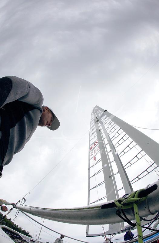 Establisment of the Class catamaran at the New York Yacht Club International C Class Catamaran Championships.