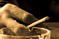 Detailed shots of hands.