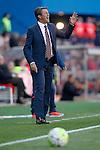Granada Club de Futbol's coach Jose Gonzalez during La Liga match. April 17,2016. (ALTERPHOTOS/Acero)