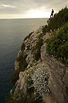 les falaisesde Telascica sur lîle de Dugi Otok.sandstone cliffs of Telascica on Dugi Otok island.