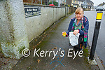 Breda Joy who is sickened by the dog fouling around the streets of Killarney