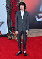 "LOS ANGELES, USA. August 27, 2019: Finn Wolfhard at the premiere of ""IT Chapter Two"" at the Regency Village Theatre.<br /> Picture: Paul Smith/Featureflash"
