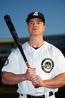Jackson Generals right fielder Tyler O'Neill (4) poses for a photo before a game against the Jacksonville Suns on May 4, 2016 at The Ballpark at Jackson in Jackson, Tennessee.  Jackson defeated Jacksonville 11-6.  (Mike Janes/Four Seam Images)
