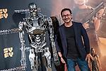 Carlos Santos in the exclusive 'Terminator: Hidden Destination' pass organized by SYFY<br /> October 23, 2019. <br /> (ALTERPHOTOS/David Jar)