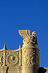 Detail of Art Deco Fox Theater in Westwood, CA