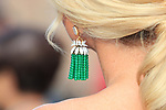78th Venice Film Festival  at the Lido in Venice, Italy on September 7, 2021. Celebrity Sightings, Tiffany Jewellery, detail,