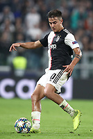 Football Soccer: UEFA Champions League -Group Stage-  Group D - Juventus vs Lokomotiv Moskva, Allianz Stadium. Turin, Italy, October 22, 2019.<br /> Juventus' Paulo Dybala in action during the Uefa Champions League football soccer match between Juventus and Lokomotiv Moskva at Allianz Stadium in Turin, on October 22, 2019.<br /> UPDATE IMAGES PRESS