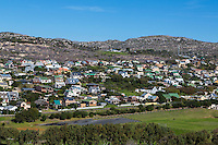 South Africa.  White Suburban Settlement between Simon's Town and Cape Town.