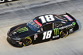 BRISTOL, TENNESSEE - JUNE 01: Riley Herbst, driver of the #18 Monster Energy Toyota, drives during the NASCAR Xfinity Series Cheddar's 300 presented by Alsco at Bristol Motor Speedway on June 01, 2020 in Bristol, Tennessee. (Photo by Jared C. Tilton/Getty Images)