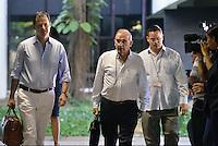 LA HABANA -CUBA-24-02-2014. Humberto de La Calle Lombana  jefe de la delegacion del Gobierno en el proceso de paz se refirio a las declaracioones de las FARC sobre las FFMM ./  Humberto de la Calle Lombana head of the delegation of the Government in the peace process referred to statements by the FARC on the Armed Forces .Photo: Photo: VizzorImage/ Omar Nieto / Oficina Alto Comisionado para la Paz / HANDOUT PICTURE; MANDATORY USE EDITORIAL ONLY/ TO DOWLOAD THIS PICTURES GO TO THE FREE DOWNLOAD AREA AND ENTER PASSWORD: 54321
