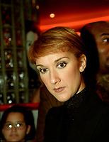 Celine Dion<br /> circa 2000<br /> <br /> <br /> PHOTO :  Agence Quebec Presse