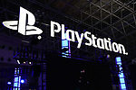 A Sony Playstation logo on display at the Tokyo Game Show (TGS) 2019 in Makuhari, Chiba Prefecture, Japan on September 12, 2019. A total of 655 companies from 40 countries exhibited their latest video games and software programs during the four-day trade show. (Photo by Naoki Nishimura/AFLO)