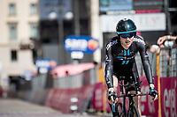 Michael Storer (AUS/DSM) finishing<br /> <br /> 104th Giro d'Italia 2021 (2.UWT)<br /> Stage 21 (final ITT) from Senago to Milan (30.3km)<br /> <br /> ©kramon