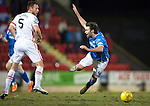 St Johnstone v Inverness Caley Thistle…09.03.16  SPFL McDiarmid Park, Perth<br />Gary Warren brings down Simon Lappin and is booked<br />Picture by Graeme Hart.<br />Copyright Perthshire Picture Agency<br />Tel: 01738 623350  Mobile: 07990 594431