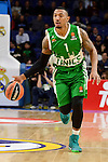 Unics Kazan's player Orlando Johnson during match of Turkish Airlines Euroleague at Barclaycard Center in Madrid. November 24, Spain. 2016. (ALTERPHOTOS/BorjaB.Hojas)
