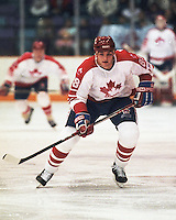 Eric Lindros Team Canada 1991. Photo copyright F. Scott Grant