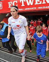 FC Twente - Standard Femina : Cecile De Gernier<br /> foto DAVID CATRY / Nikonpro.be