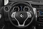 Car pictures of steering wheel view of a 2018 Renault Alaskan Foraker 4 Door Pick Up