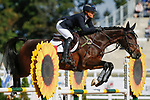 October 17, 2021: Mary Bess Davis (USA), aboard Imperio Magic, competes during the Stadium Jumping Final at the 3* level during the Maryland Five-Star at the Fair Hill Special Event Zone in Fair Hill, Maryland on October 17, 2021. Jon Durr/Eclipse Sportswire/CSM