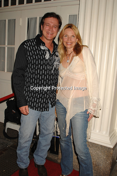 Frank Dicopoulos and wife Teja..at the 18th annual  Marcia Tovsky's  Pre-Daytime Emmy Awards Party on June 6, 2007 at Nikki Midtown. ..Robin Platzer, Twin Images......212-935-0770