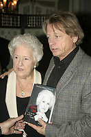 File photo - Maman Dion (L) George Hebert Germain (R) in November 2006.<br /> <br /> <br />  George Hebert Germain<br />  passed away  today November 14, 2015, he was 71