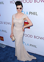 HOLLYWOOD, LOS ANGELES, CA, USA - JUNE 21: Dita Von Teese at the 2014 Hollywood Bowl Opening Night And Hall Of Fame Inductions held at the Hollywood Bowl on June 21, 2014 in Hollywood, Los Angeles, California, United States. (Photo by Xavier Collin/Celebrity Monitor)