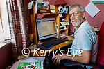 Noel Ó Murchú at home in Firies who got phishing email as Gaeilge.