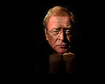 Acting great Michael Caine at the Peninsula Hotel, Monday afternoon in Beverly Hills. Caine stars in the Quiet American, based on Graham Greene's novel. Set in 1952 Vietnam, Caine plays an English journalist in love with a Vietnamese woman. The third leg of the romantic triangle is an American CIA agent.