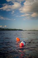Lobster Buoys, Castine Harbor, Castine, Maine, US
