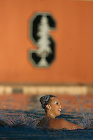 STANFORD, CA - FEBRUARY 7:  Maria Koroleva of the Stanford Cardinal during Stanford's 88-78 win against the Incarnate Word Cardinals on February 7, 2009 at Avery Aquatic Center in Stanford, California.