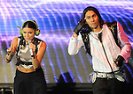 Fergie & Taboo of The Black Eyed Peas live at The 102.7's KIIS-FM's Wango Tango 2009 held at The Verizon Wireless Ampitheatre in Irvine, California on May 09,2009                                                                     Copyright 2009 DVS/ RockinExposures
