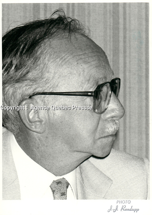 Robert Boyd, Hydro-Quebec<br /> , 27 aout  1980<br /> <br /> PHOTO : Agence Quebec Presse