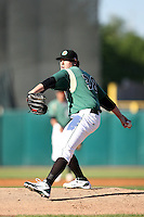 May 27, 2010: Dan Straily (36) of the Kane County Cougars at Elfstrom Stadium in Geneva, IL. The Cougars are the Midwest League Class A affiliate of the Oakland Athletics. Photo by: Chris Proctor/Four Seam Images