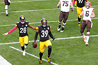during a regular season game between the Pittsburgh Steelers and the Cleveland Browns, Sunday, Oct. 18, 2020 in Pittsburgh, PA. (\042011000151#1\ / Pittsburgh Steelers)