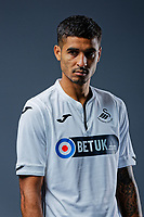 Pictured: Kyle Naughton. Thursday 29 August 2018<br />Re: Swansea City FC player and staff profile photo-shoot at Fairwood Training Ground, Wales, UK