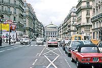 Paris: Avenue de L'Opera. Looking toward Opera House. Photo '87.