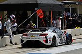 Pirelli World Challenge<br /> Grand Prix of Texas<br /> Circuit of The Americas, Austin, TX USA<br /> Sunday 3 September 2017<br /> Peter Kox/ Mark Wilkins pit stop<br /> World Copyright: Richard Dole/LAT Images<br /> ref: Digital Image RD_COTA_PWC_17284
