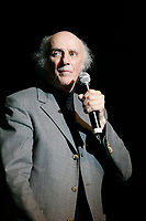 May 20 2005, Montreal (Qc) Canada <br /> <br /> Gilles Vignault sing at Independance Plus Que Jamais concert at Metropolis to commemorate the 25th anniversary of the first Referendum on Quebec Independance
