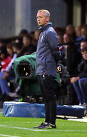Pictured: Liverpool manager Neil Critchley. Friday 11 August 2017<br /> Re: Premier League 2, Division 1, Swansea City U23 v Liverpool U23 at the Landore Training Ground, Swansea, UK